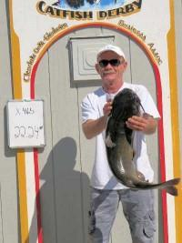 Annual Catfish Derby reports record turnout, lots of big fish
